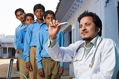 School Health Check-up